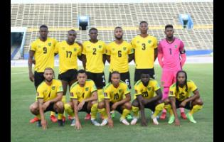 The Reggae Boyz line up at the National Stadium devoid of spectators prior to their September 5 World Cup qualifying football match against Panama. Jamaica lost the encounter 3-0. Football stakeholders have expressed disappointment that the Government has not granted approval for fully vaccinated persons to attend the Reggae Boyz next home World Cup qualifier against the United States, on November 16.